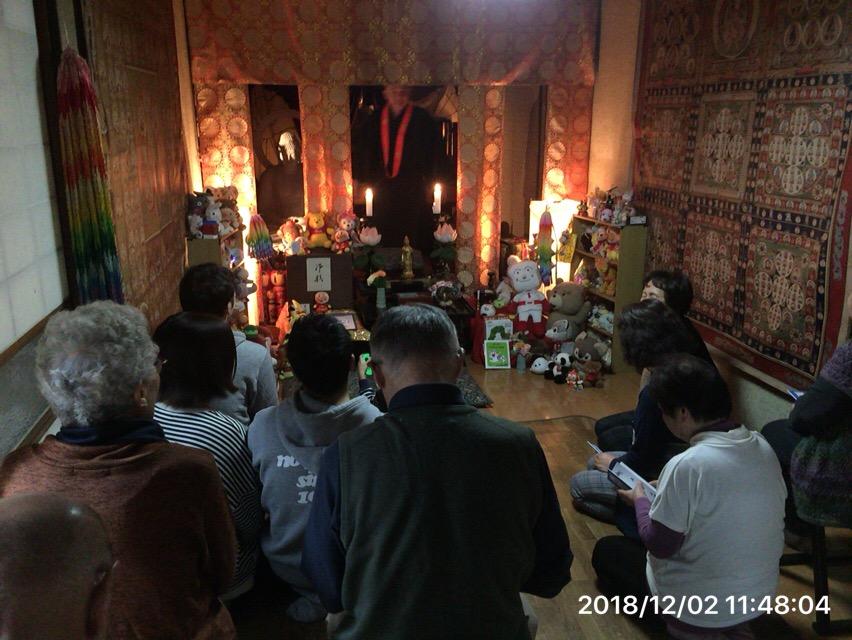 神奈川県平塚市で人形供養とつちぼとけ・写経