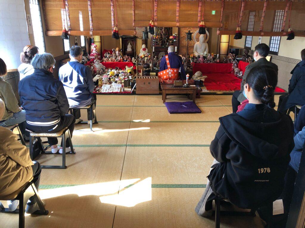 令和3年4月 東京本寿院の人形供養とお焚き上げ