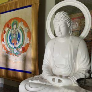 栃木県日光市の尊星王院にお骨仏が造仏されました
